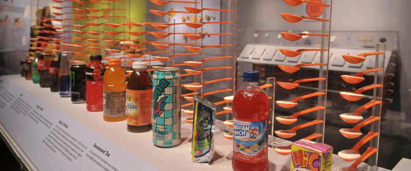 El azucar en las bebidas