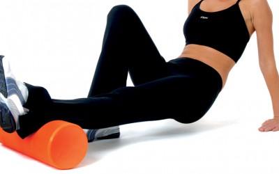 Liberación miofascial con foam roller o rulo