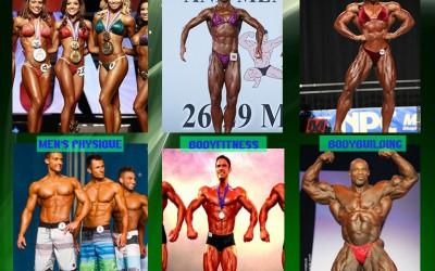 Categorias Fitness y Culturismo, aprende la diferencia