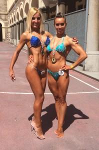 Norte de España. Maria Jose Garcia y Jennifer en competición