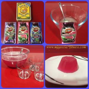 gelatina con sobre bolero