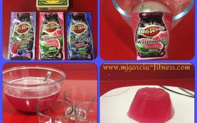 Receta para hacer gelatina