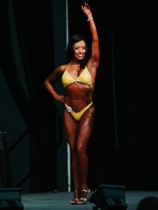 yellow bikini competition