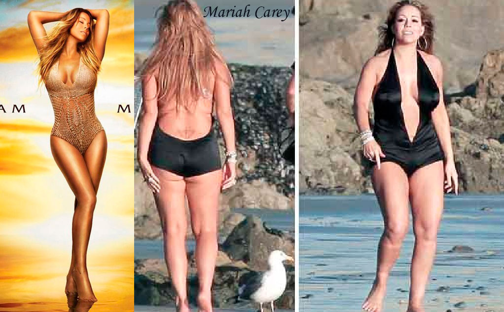 Mariah carey photoshop