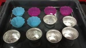 moldes de colores para horno