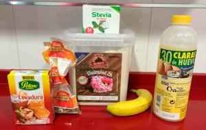 ingredientes dulce de donut