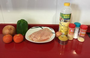 ingredientes para cocinar tortos