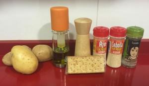 ingredientes para hacer patatas deluxe