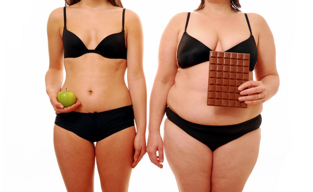 Porcentaje de grasa en mujeres