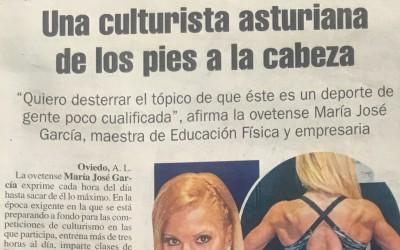 """Entrevista en el diario """"La Nueva España"""" 24-junio-2017"""