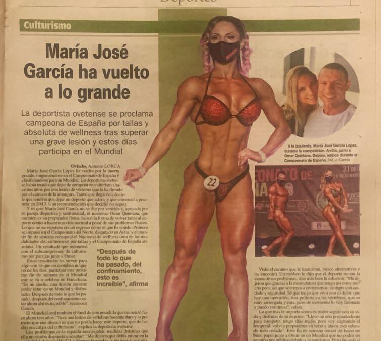 Entrevista en el diario «La Nueva España» 08-noviembre-2020