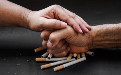 Tabaco y cuerpo humano.