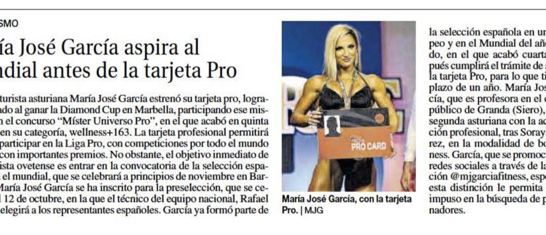 Publicación en el diario «La Nueva España» 4-octubre-2021